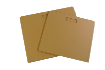 Light, ecological cardboard folders and covers for your sketches